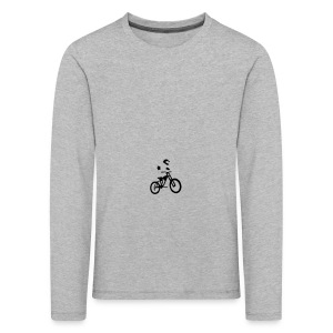 Biker bottle - Kids' Premium Longsleeve Shirt