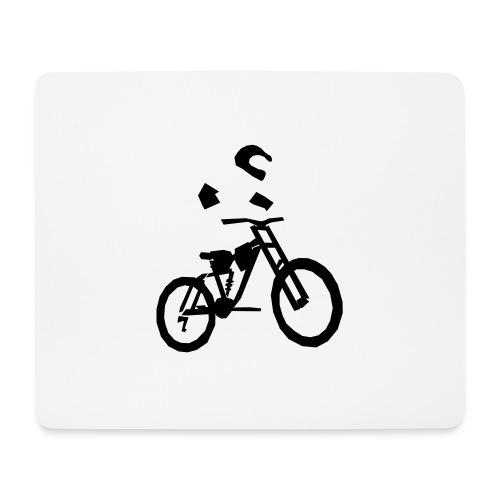 Biker bottle - Mouse Pad (horizontal)