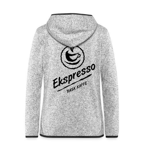 Ekspresso - rask kaffe - Hette-fleecejakke for kvinner