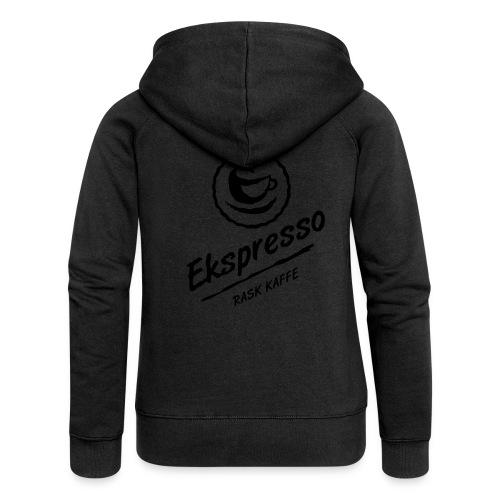 Ekspresso - rask kaffe - Premium hettejakke for kvinner