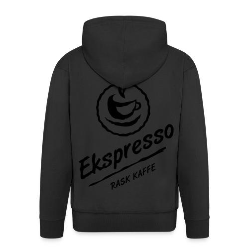 Ekspresso - rask kaffe - Premium Hettejakke for menn