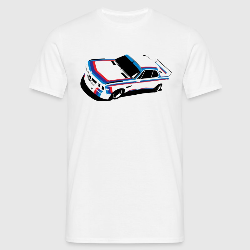 Young Timer CSl touring Car T Shirt - Men's T-Shirt