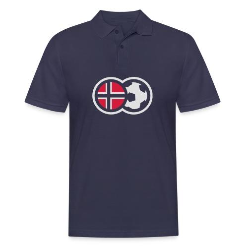 Norsk fotball - Poloskjorte for menn