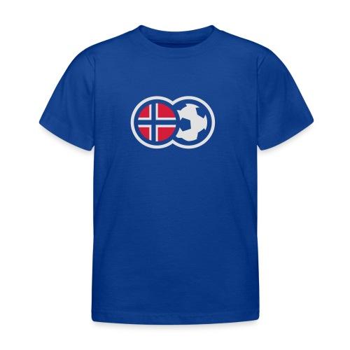 Norsk fotball - T-skjorte for barn
