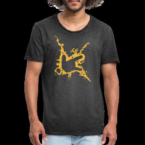 ILY-Handzeichen - Männer Vintage T-Shirt