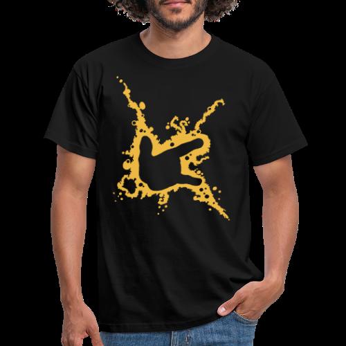 ILY-Handzeichen - Männer T-Shirt