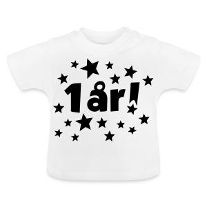 1 år! - Baby-T-skjorte