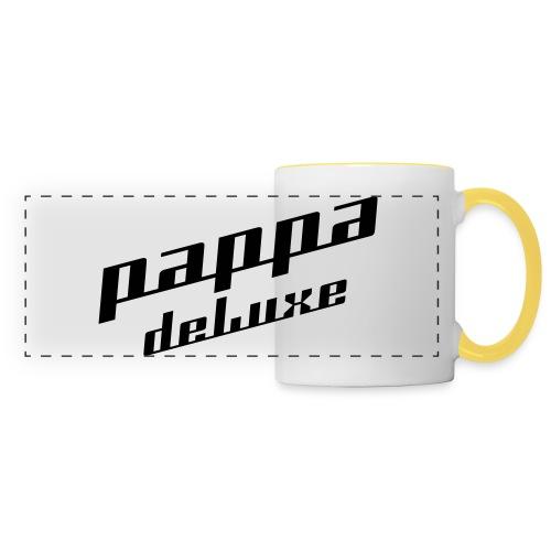 Pappa deLuxe - Sort print - Panoramakopp