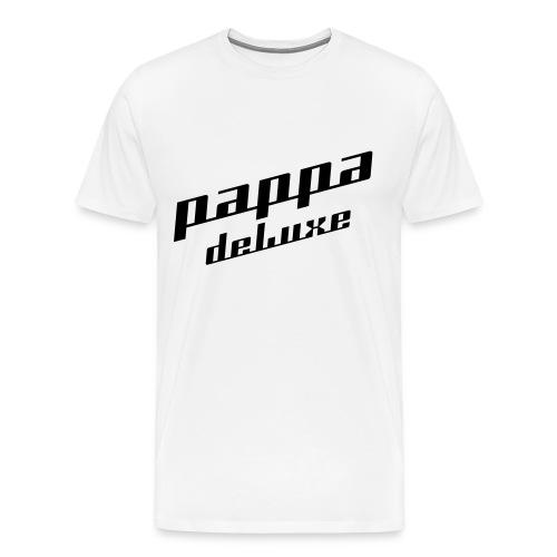Pappa deLuxe - Sort print - Premium T-skjorte for menn