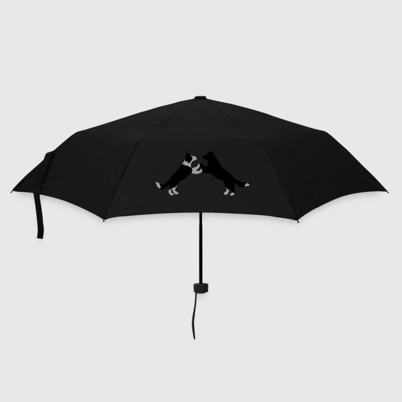 dog dancing Border Collies  Umbrellas - Umbrella (small)
