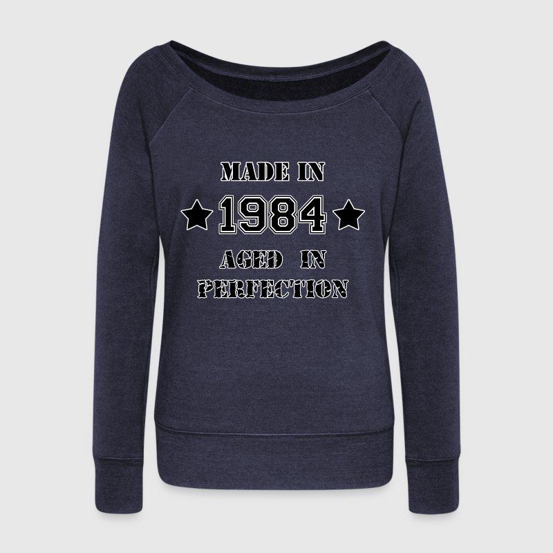 Made in 1984 Sweat-shirts - Pull Femme col bateau de Bella