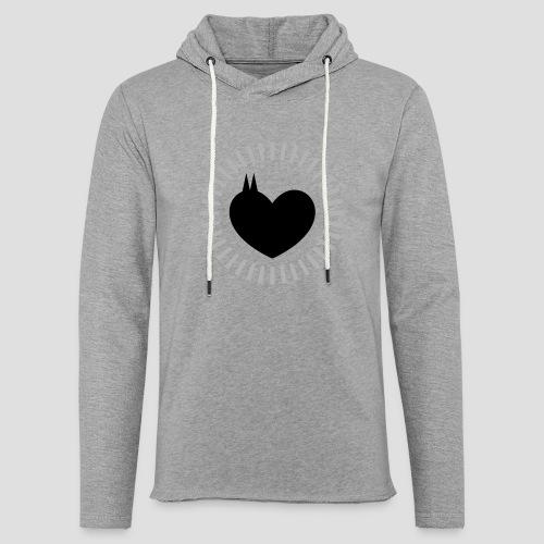 Das Dom Herz - Leichtes Kapuzensweatshirt Unisex