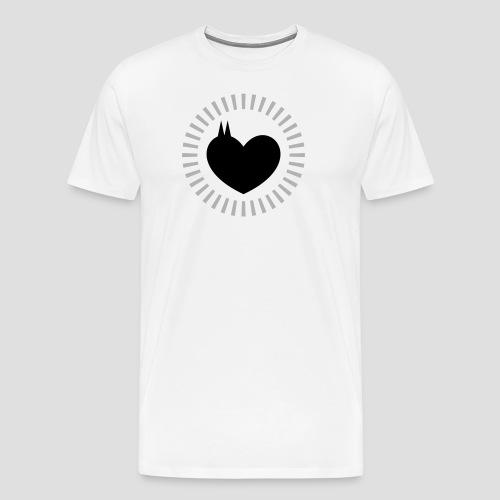 Das Dom Herz - Männer Premium T-Shirt