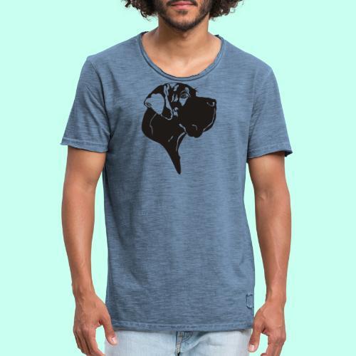 Tragetasche blau - Männer Vintage T-Shirt