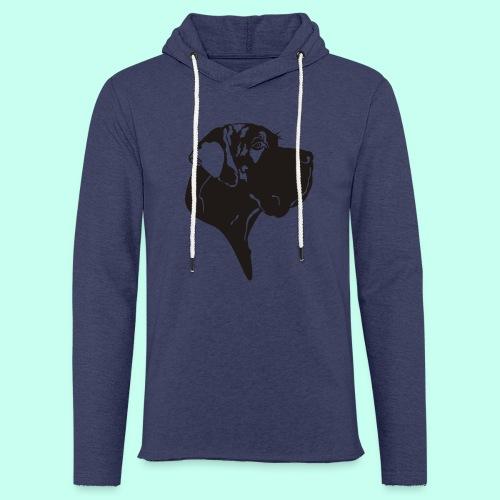 Tragetasche blau - Leichtes Kapuzensweatshirt Unisex