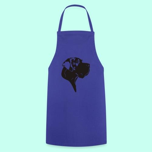 Tragetasche blau - Kochschürze