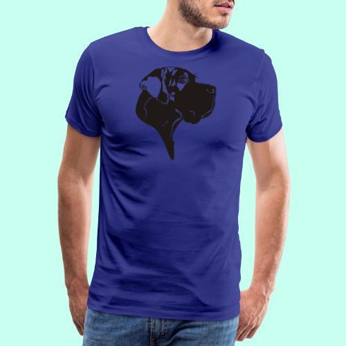 Tragetasche blau - Männer Premium T-Shirt