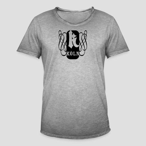 et kölsche K - Männer Vintage T-Shirt