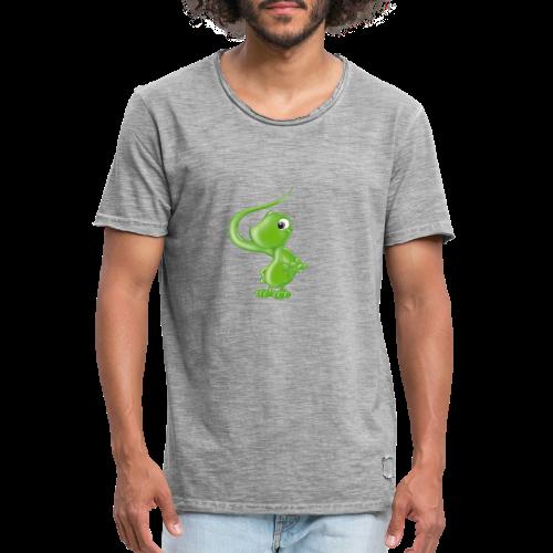 ILY Eidechse - Männer Vintage T-Shirt