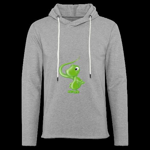 ILY Eidechse - Leichtes Kapuzensweatshirt Unisex