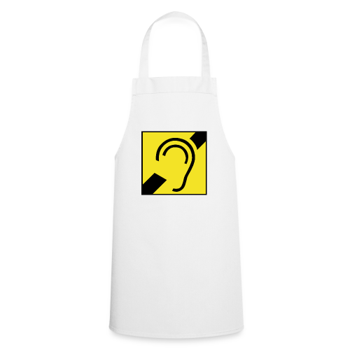 Deaf Symbol - Kochschürze