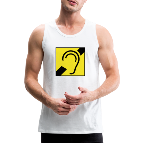 Deaf Symbol - Männer Premium Tank Top