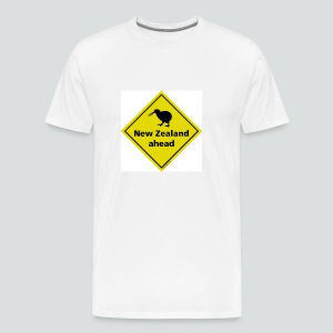 Tasse New Zealand ahead - Männer Premium T-Shirt