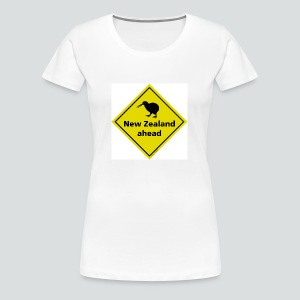 Tasse New Zealand ahead - Frauen Premium T-Shirt