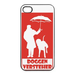 Tragetasche Doggenversteher - iPhone 4/4s Hard Case