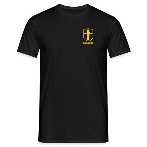 Shirt Ballartist Brust - Männer T-Shirt