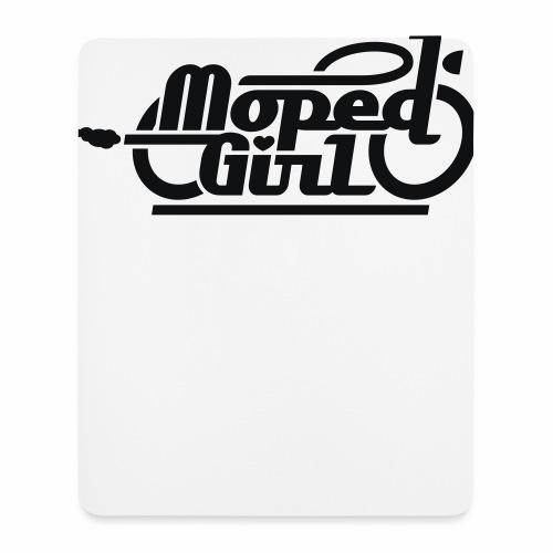 Moped Girl / Mopedgirl (V1) - Mouse Pad (vertical)