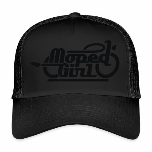 Moped Girl / Mopedgirl (V1) - Trucker Cap