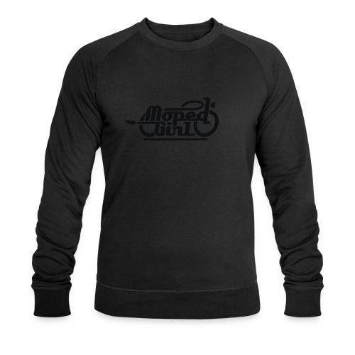 Moped Girl / Mopedgirl (V1) - Men's Organic Sweatshirt by Stanley & Stella