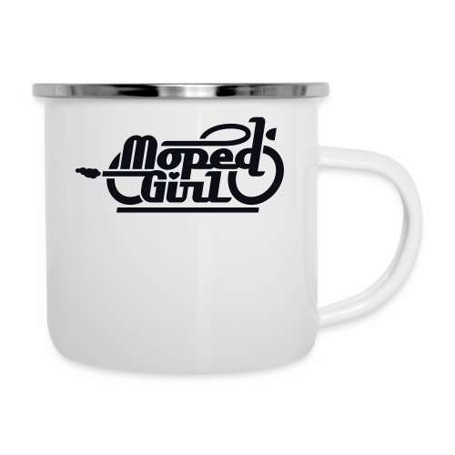 Moped Girl / Mopedgirl (V1) - Camper Mug