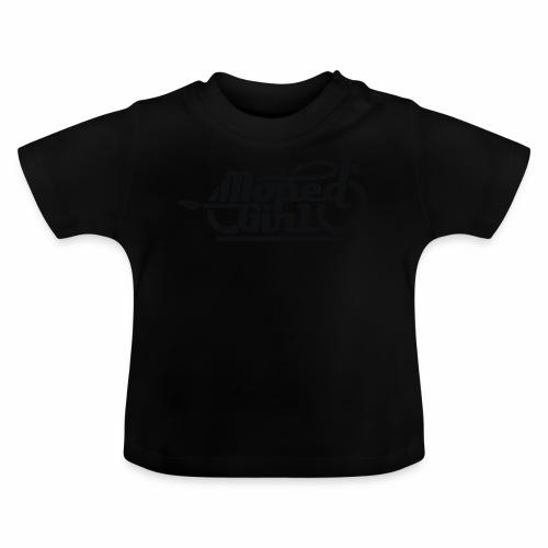 Moped Girl / Mopedgirl (V1) - Baby T-Shirt