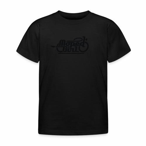 Moped Girl / Mopedgirl (V1) - Kids' T-Shirt