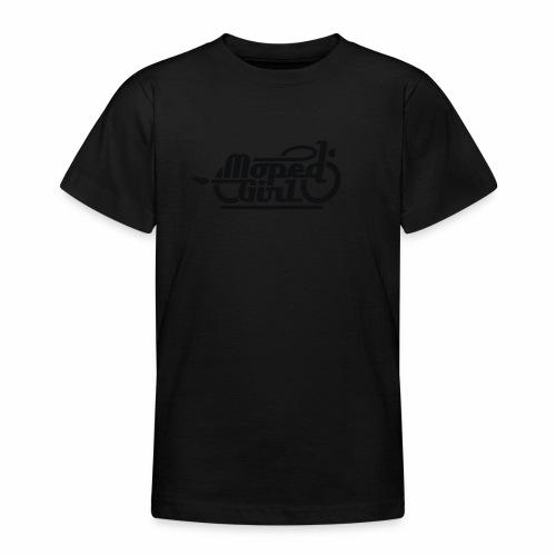 Moped Girl / Mopedgirl (V1) - Teenager T-Shirt