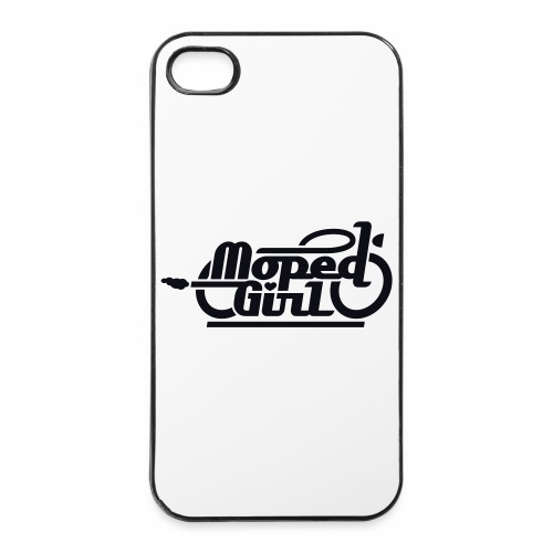Moped Girl / Mopedgirl (V1) - iPhone 4/4s Hard Case