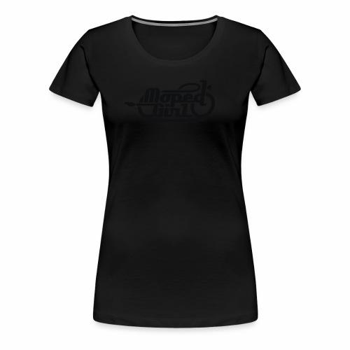 Moped Girl / Mopedgirl (V1) - Frauen Premium T-Shirt