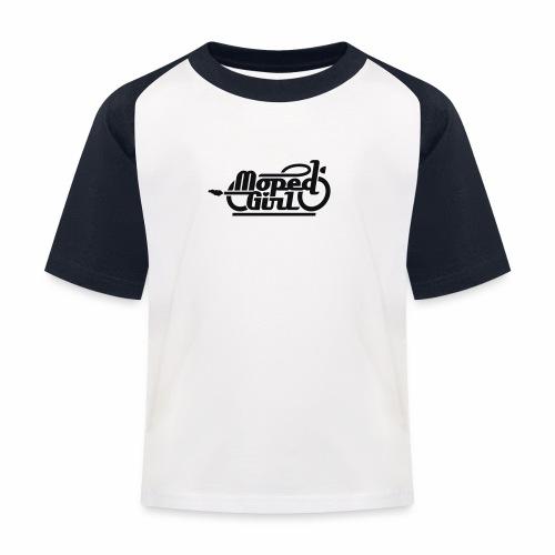 Moped Girl / Mopedgirl (V1) - Kids' Baseball T-Shirt