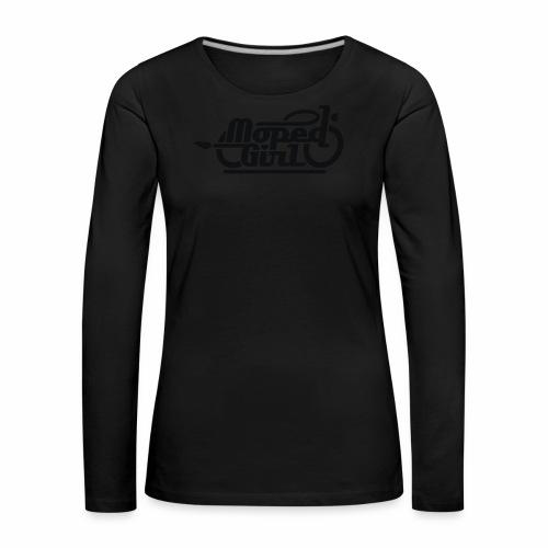 Moped Girl / Mopedgirl (V1) - Women's Premium Longsleeve Shirt
