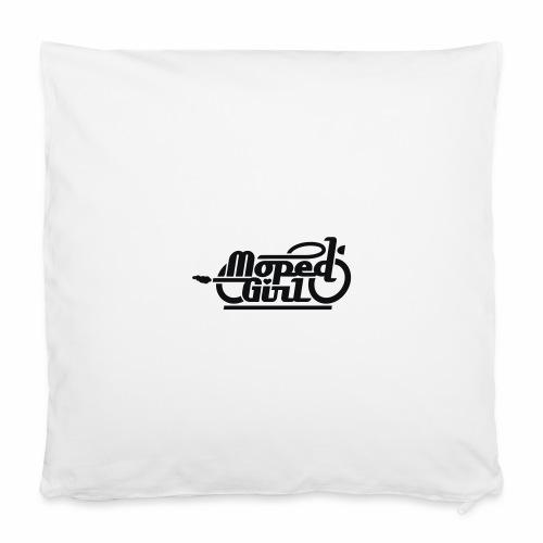 Moped Girl / Mopedgirl (V1) - Kissenbezug 40 x 40 cm
