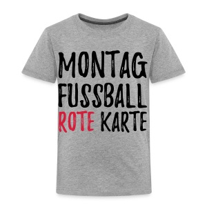Montag Fussball Rote Karte