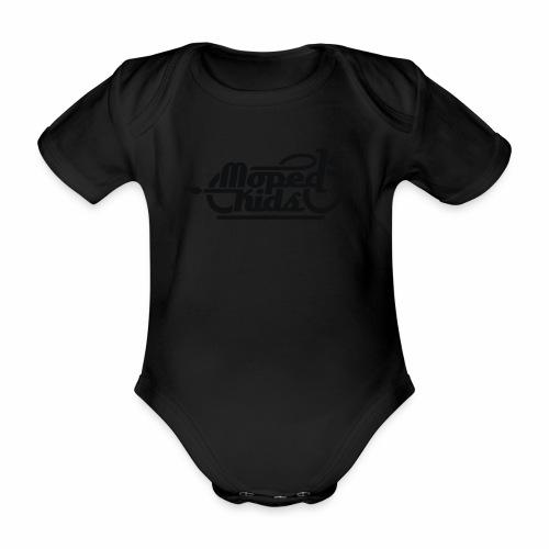 Moped Kids / Mopedkids (V1) - Organic Short-sleeved Baby Bodysuit