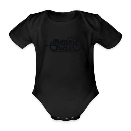 Moped Kids / Mopedkids (V1) - Organic Short-sleeved Baby Bodysuit