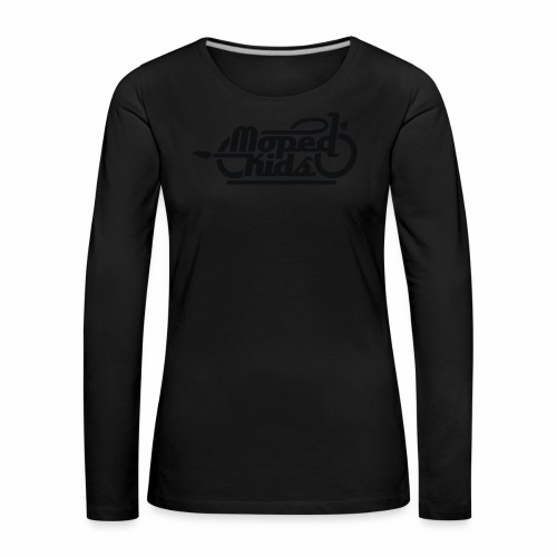 Moped Kids / Mopedkids (V1) - Women's Premium Longsleeve Shirt