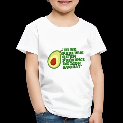 je ne parlerai qu'en présence de mon avocat  - T-shirt Premium Enfant