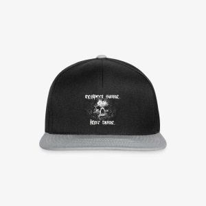 respect some. fear none. - Snapback Cap