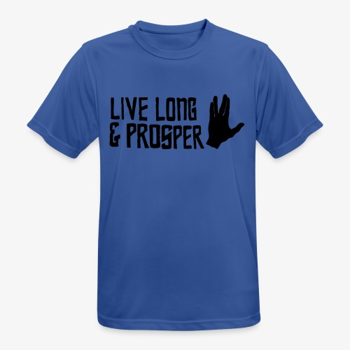 Trekkie Shirt - Männer T-Shirt atmungsaktiv