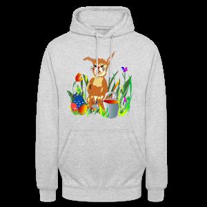 Shirt  Hase auf der Wiese - Unisex Hoodie
